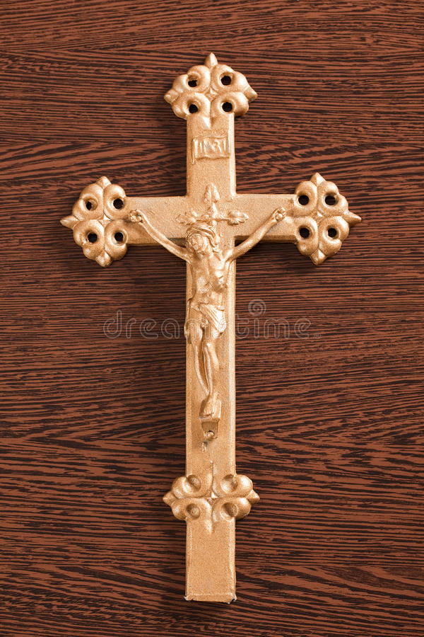 Jesus Crucified On The Cross Stock Images