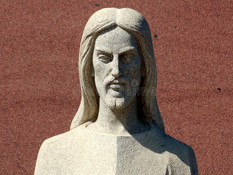 Jesus de mármore imagens de stock