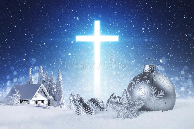 Jesus is de reden voor het seizoen royalty-vrije stock afbeeldingen
