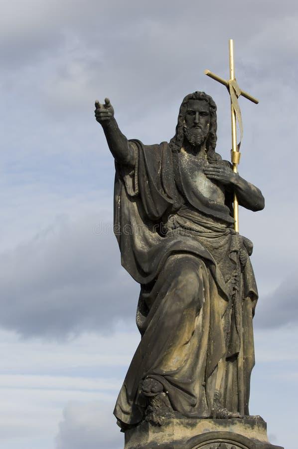 Jesus De Verlosser Stock Fotografie
