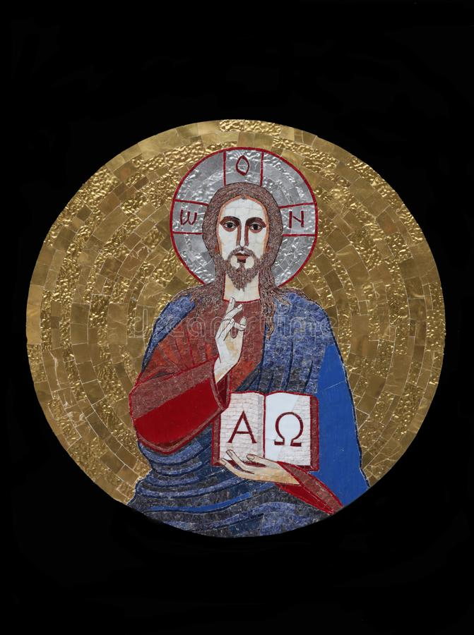 Jesus der Lehrer stockbild