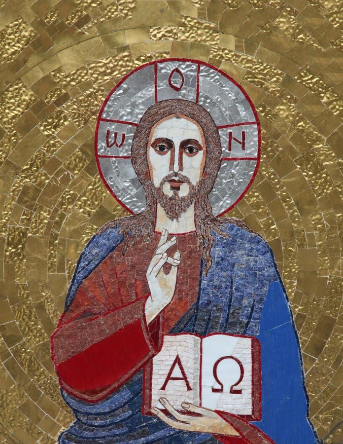 Jesus der Lehrer stockfoto