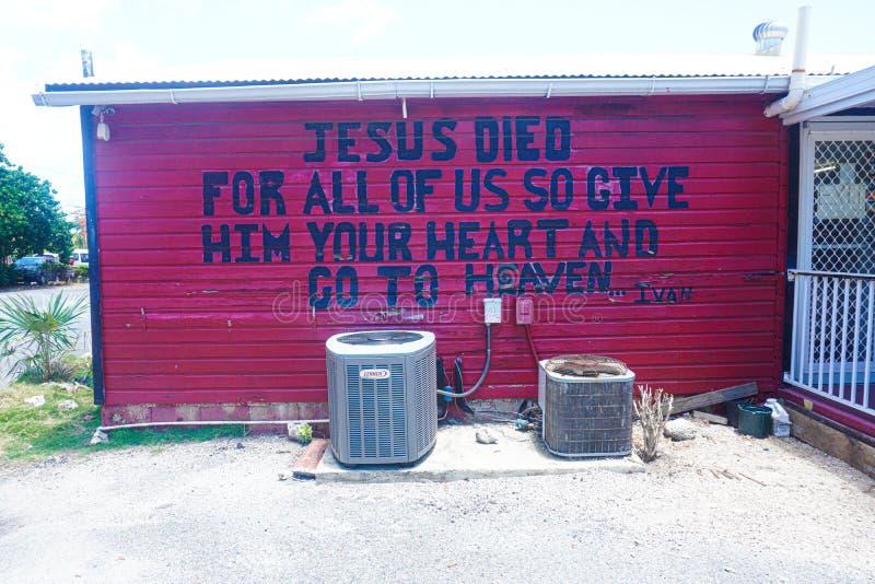 Jesus Died Art lizenzfreie stockfotos