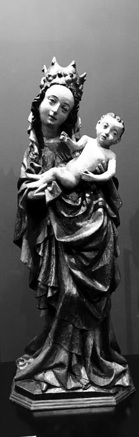 Jesus en Maria stock afbeeldingen
