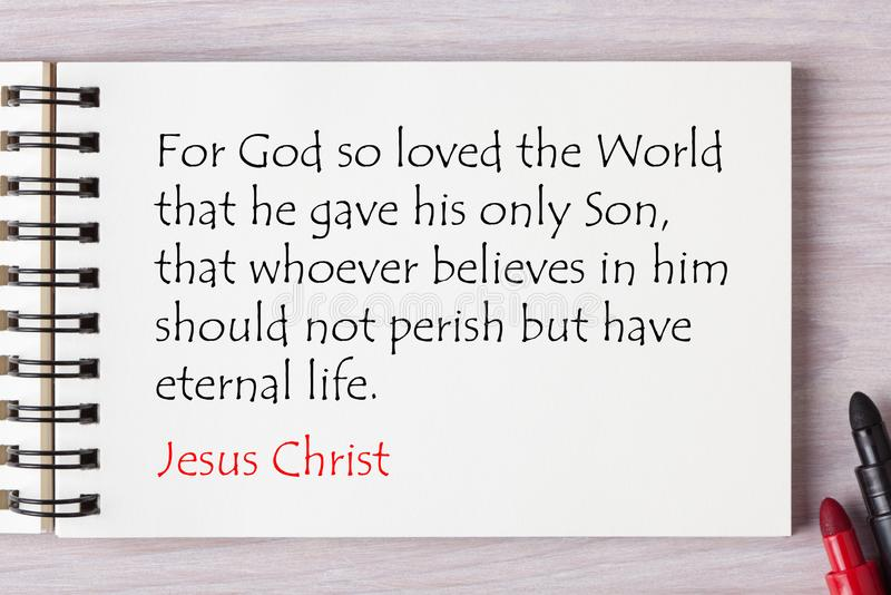 Jesus Is Eternal Life images libres de droits