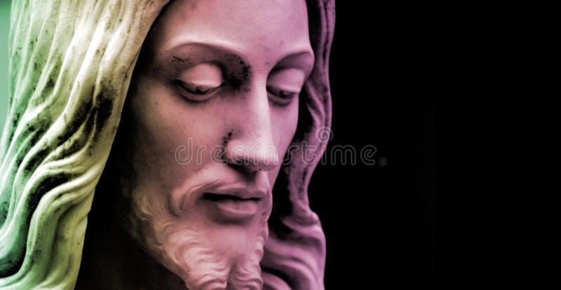 jesus för kulör kopia mång- avstånd fotografering för bildbyråer