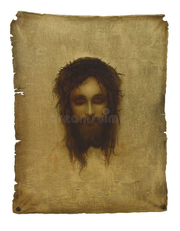 Free Jesus Face Stock Photo - 7769050