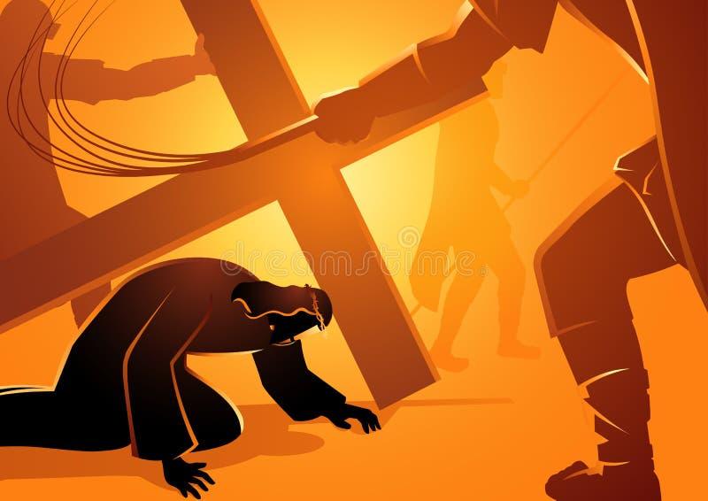 Jesus Falls libre illustration
