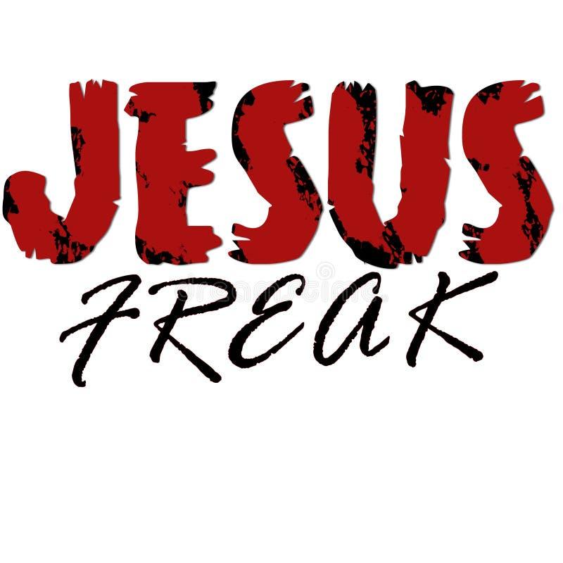 Jesus Freak ilustración del vector