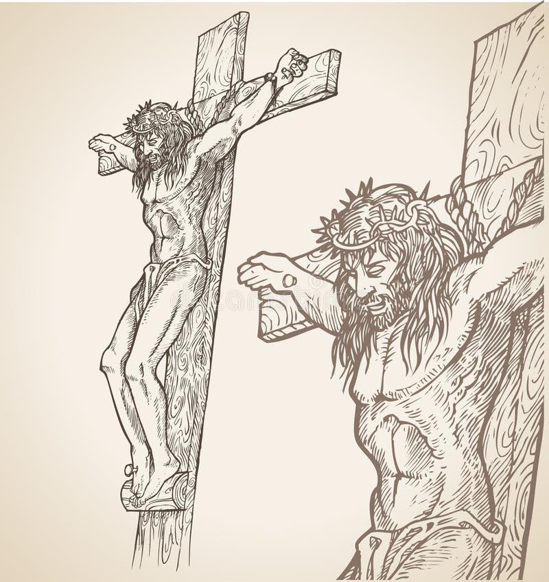 Jesus Hand Draw Royalty Free Stock Photo