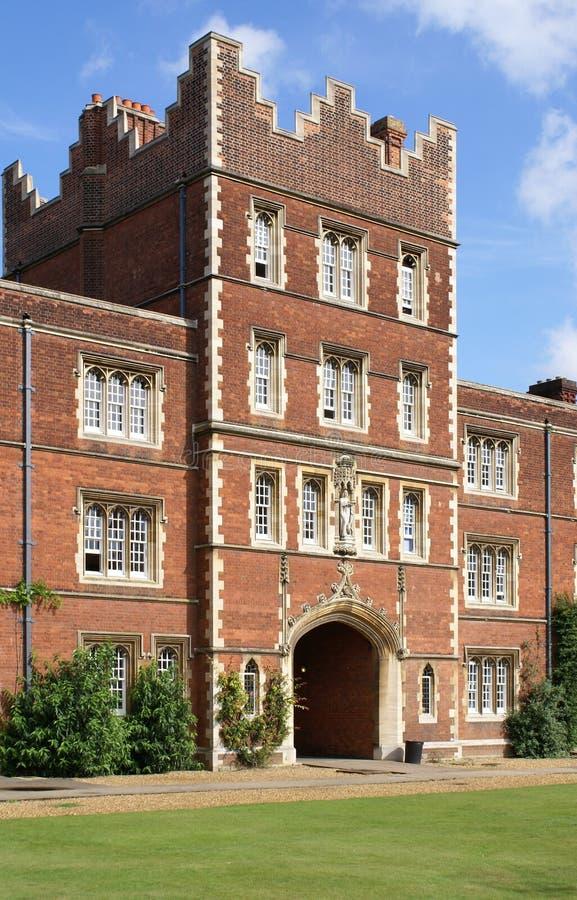 Jesus-Hochschule, Universität von Cambridge lizenzfreie stockfotografie