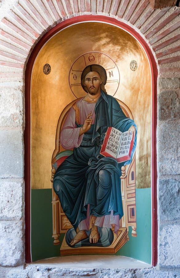 Jesus-Ikone lizenzfreies stockbild
