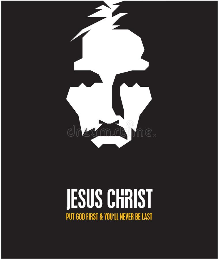 Jesus Kristus vektor illustrationer
