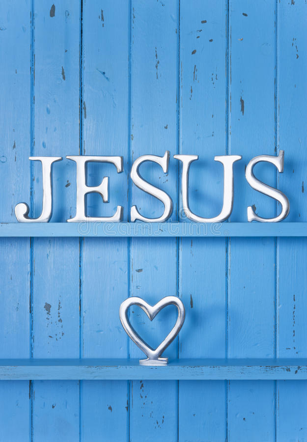 Jesus Love Background royaltyfria foton