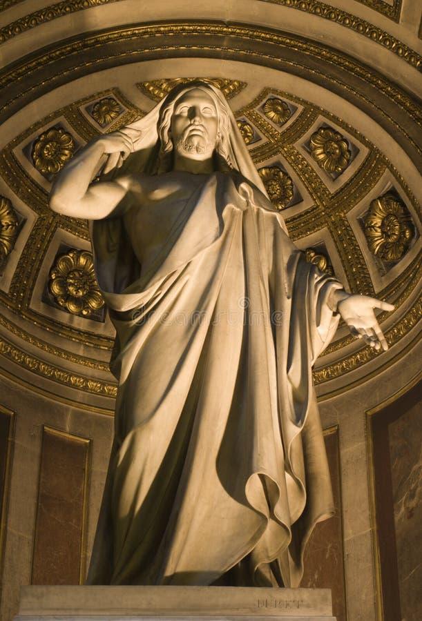 Jesus in Madeleine church in Paris