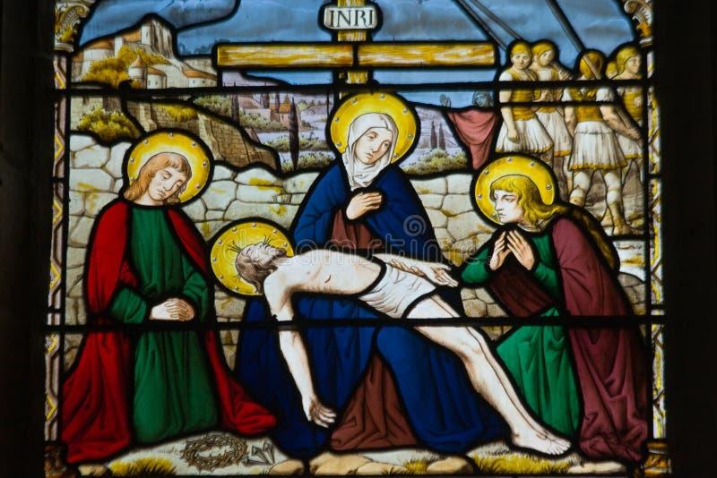 Jesus merciful sacrifice royalty free stock photos