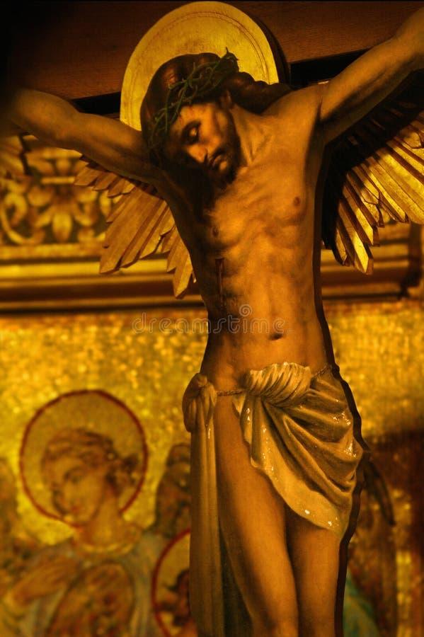 Free Jesus On Cross Royalty Free Stock Photos - 17514588