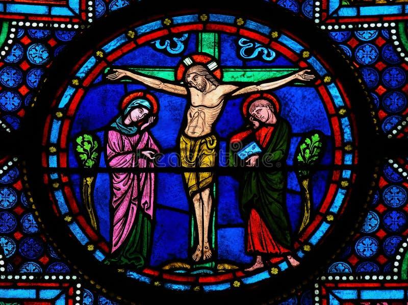 Jesus på det argt royaltyfria foton