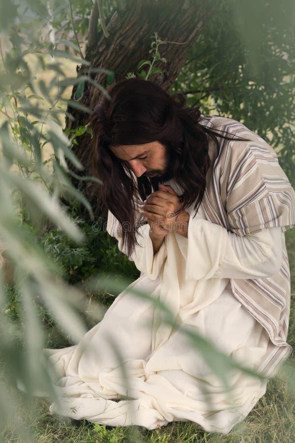 Jesus på långfredag royaltyfri fotografi