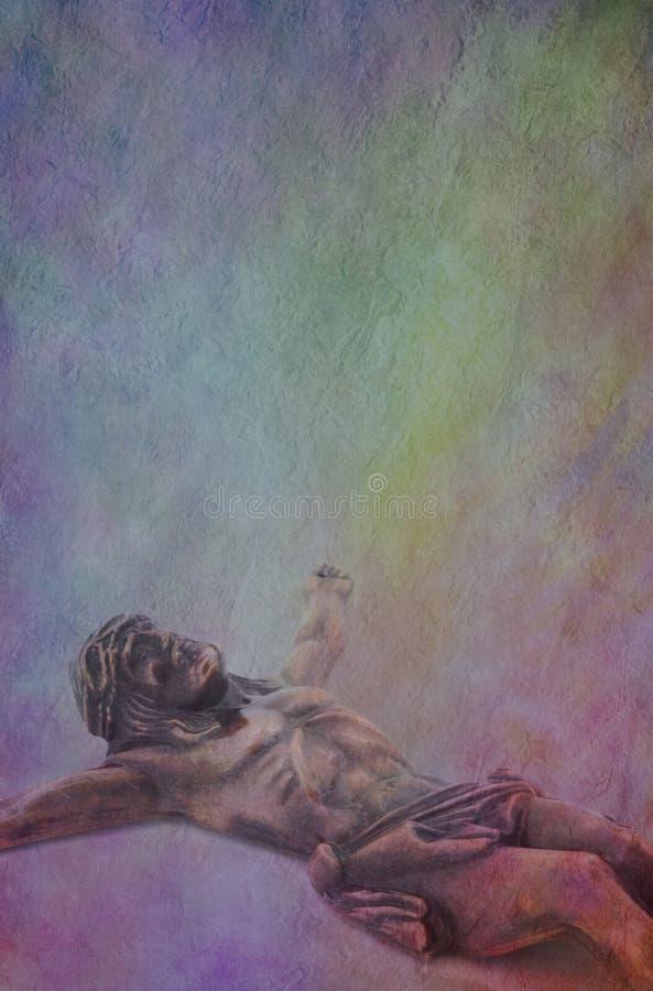 Jesus Parchment Background fotografia stock libera da diritti