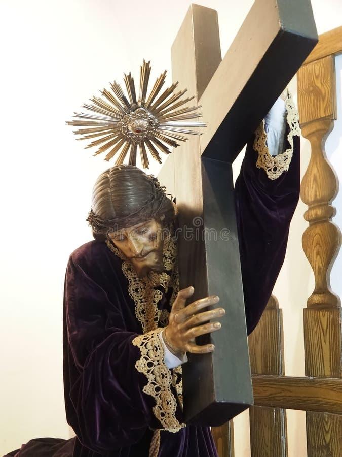 Free Jesus Sculpture Inside City Church Igreja Matriz Da Fuseta At The Algarve Coast Of Portugal Royalty Free Stock Photo - 215734525
