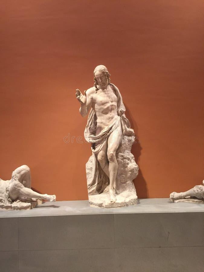 Jesus skulptur royaltyfria bilder