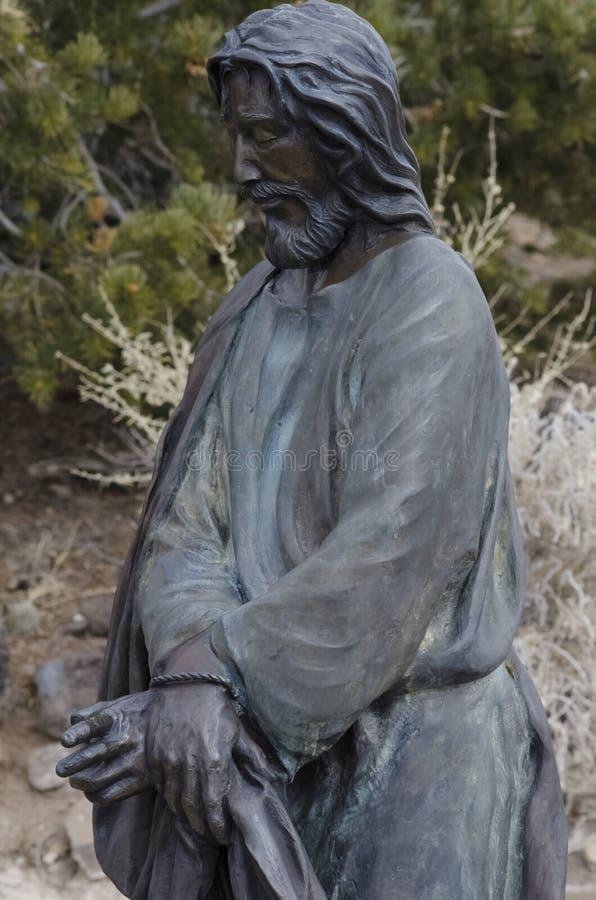 Jesus starb für uns lizenzfreie stockbilder