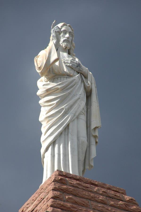 Jesus-Statue 1 stockbilder