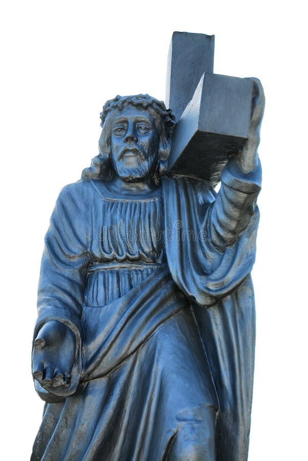 Download Jesus statue stock photo. Image of saint, grave, person - 12053578