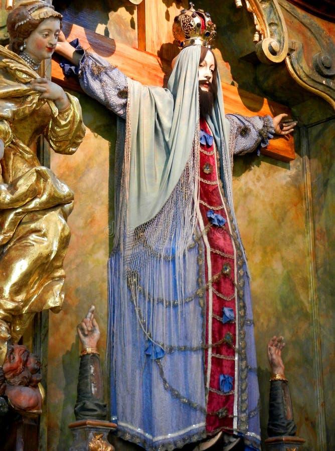 Jesus Statue royalty-vrije stock foto