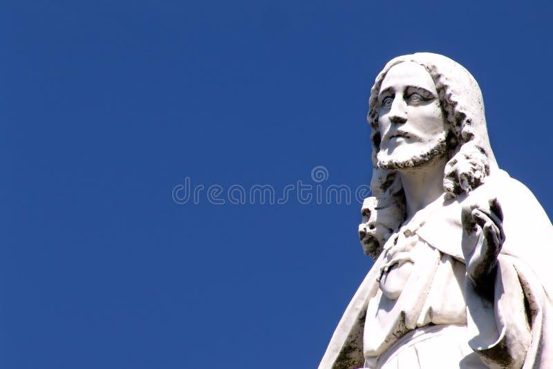 Jesus statue royalty free stock photos