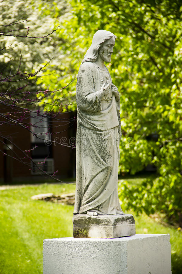 Jesus Statue fotografía de archivo