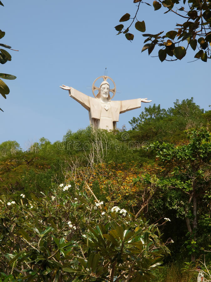 Download Jesus Statue - Vietnam, Vung Tau Stock Image - Image: 22428293