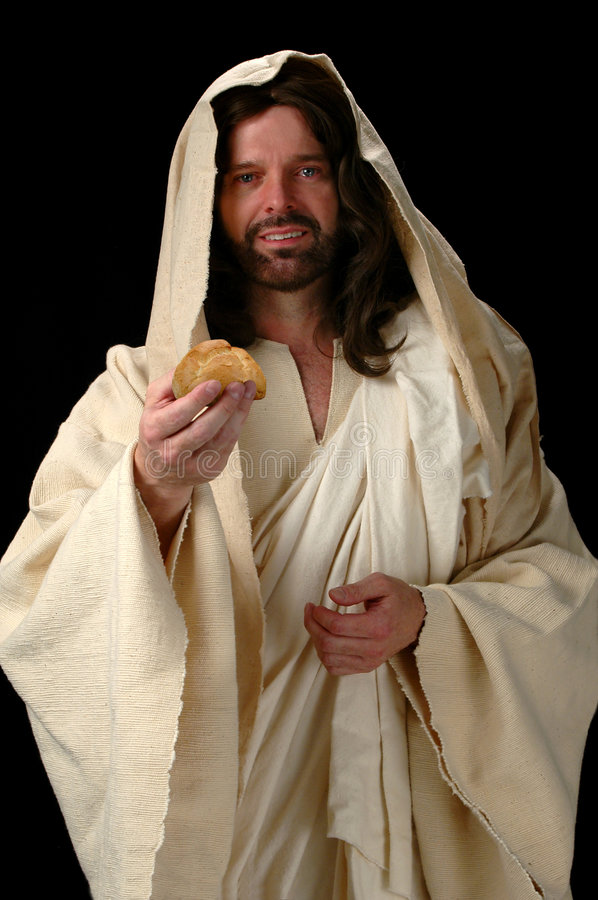 Free Jesus The Bread Of Life Royalty Free Stock Image - 1872806