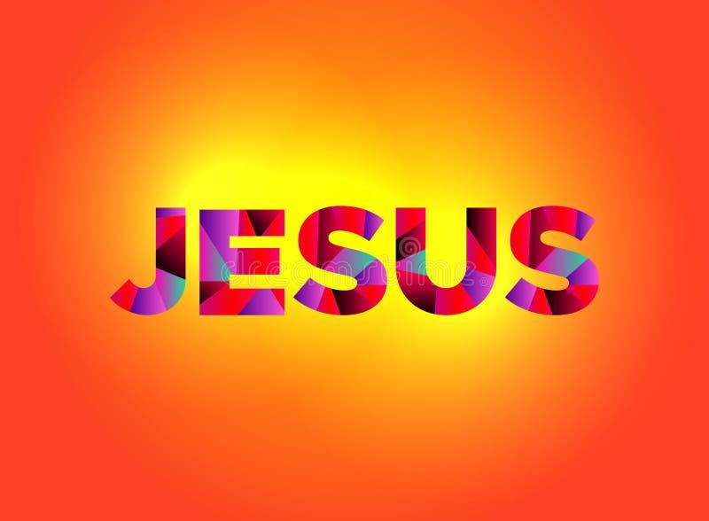 Jesus Theme Word Art Illustration illustration libre de droits