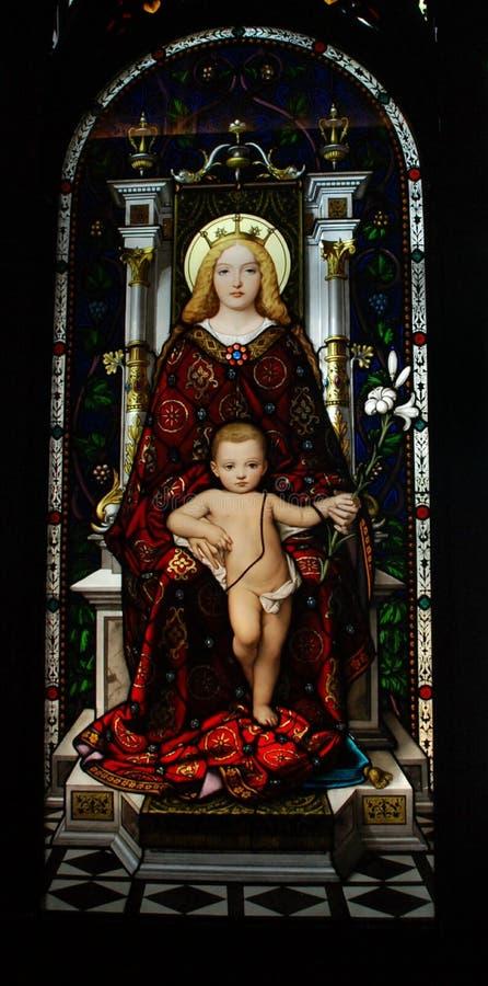 Jesus und Maria lizenzfreie stockfotos