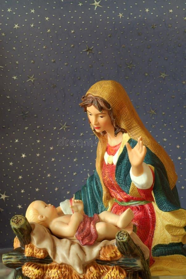 Jesus und Mutter Mary lizenzfreies stockbild