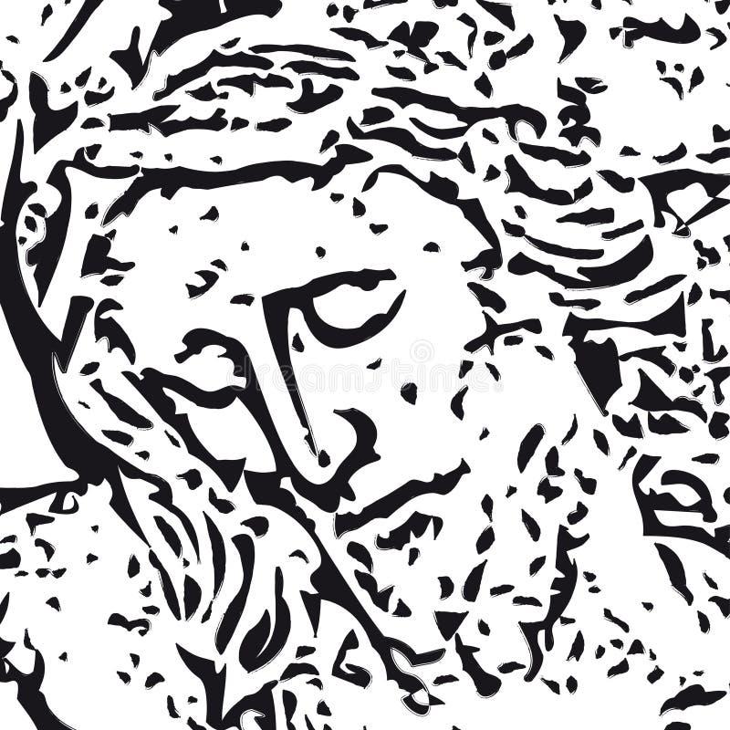 Download Jesus (vector) stock vector. Image of religion, representation - 8468606