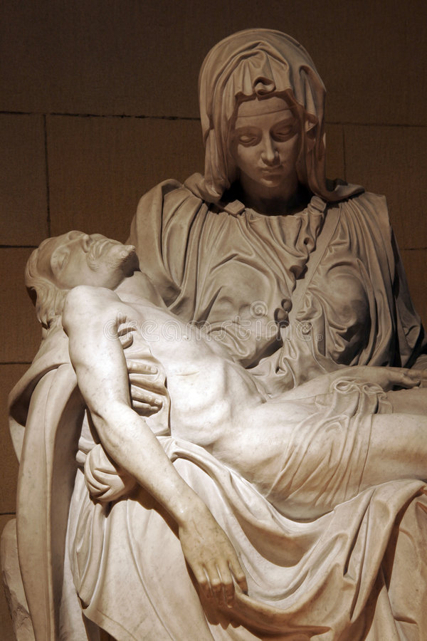 Download Jesus And Virgin Mary stock image. Image of catholic, marble - 2240461