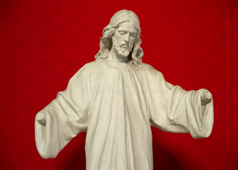 Jesus zonder handen stock foto's