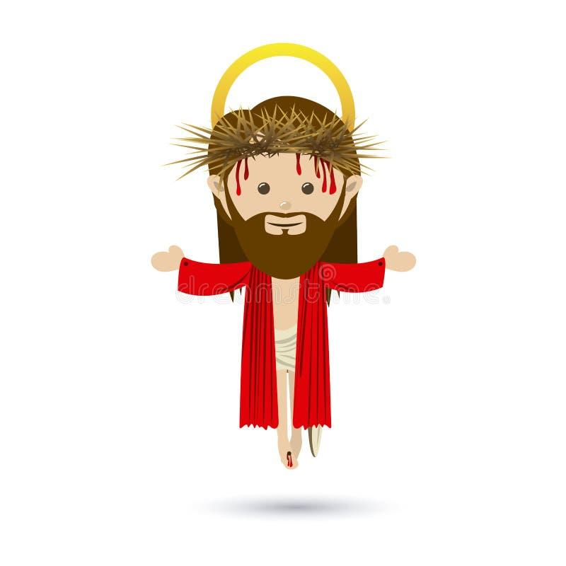 Jesuschrist ilustracja wektor