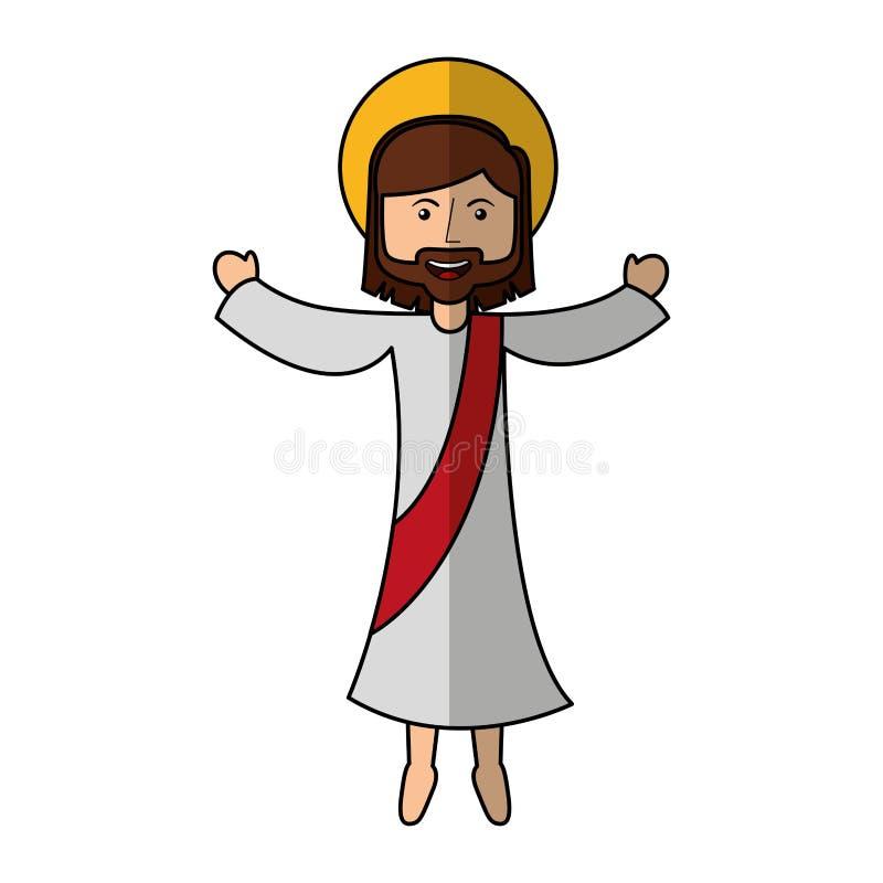 Jesuschrist avatar character icon. Illustration design stock illustration