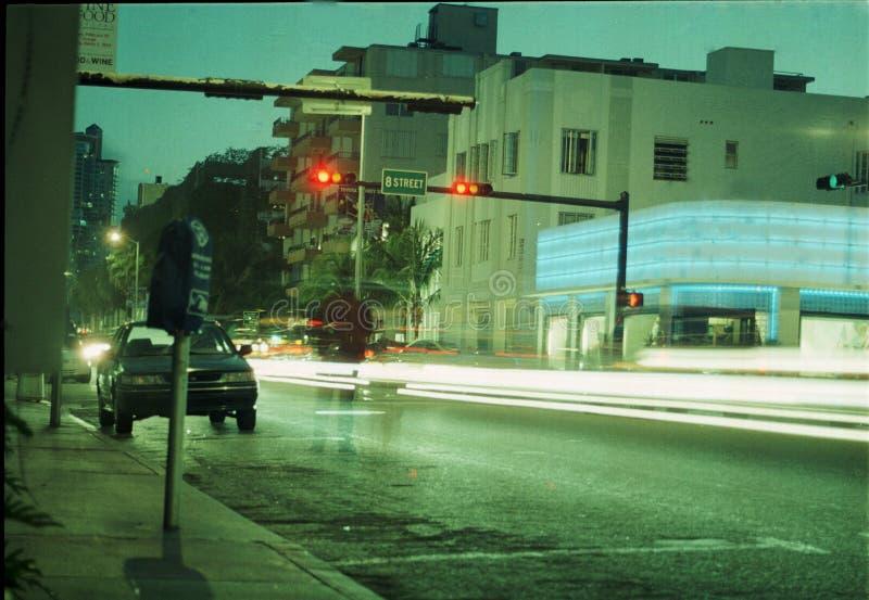 Download Jeszcze Plażowi Nocy Na Południe Obraz Stock - Obraz złożonej z nighttime, scena: 129447