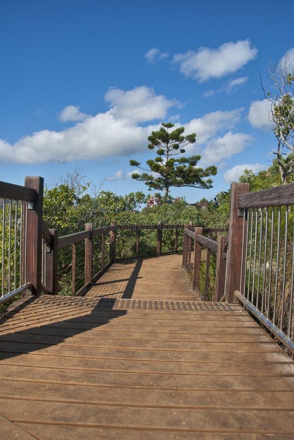 Jetée sur les îles de Whitsunday photographie stock libre de droits