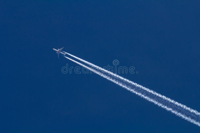 Jet stock foto