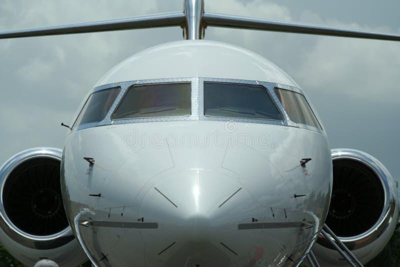 Jet. A private jet plane stock photos