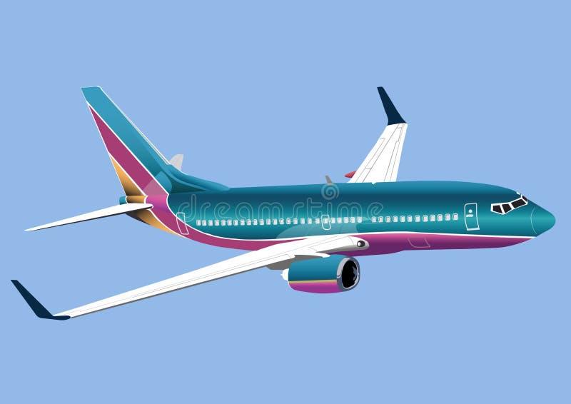 Jet vector illustratie