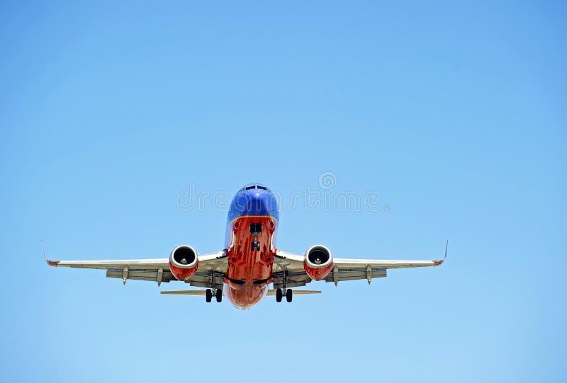 Jet Airliner fotografia stock