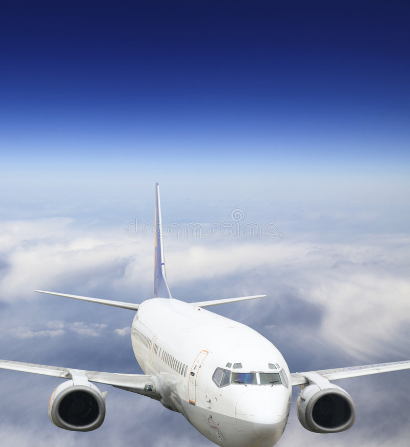 Jet airplane royalty free stock images
