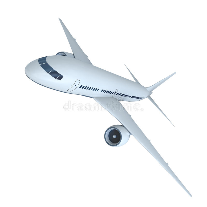 Download Jet airplane stock illustration. Image of plane, airplane - 34617849